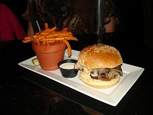 Spicy Jack Burger at Jack's Gastropub