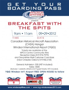 Windsor Spitfires Foundation presents Breakfast With The Spits