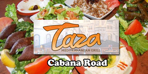 Taza Mediterranean Grill | South Windsor on Cabana