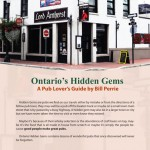 Bill Perries, Ontario's Hidden Gems Back Cover Featuring Lord Amherst Public House