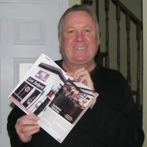 Author Bill Perrie showcases the Lord Amherst Pub in his latest book Ontario's Hidden Gems, a pub lovers guide.
