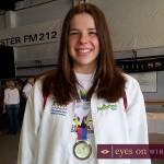 Amber Lefler Silver Medalist