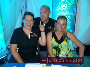 Having fun at Bigg Wiggle Fest 4 in support of 2013 Windsor Essex International Children's Games