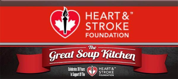 Heart & Stoke Foundation of Canada Windsor Essex 31st Annual Great Soup Kitchen Poster