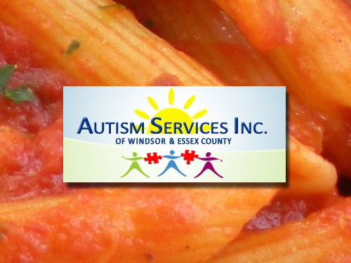 Autism Services Inc. of Windsor Essex 5th Anuual Pasta Dinner