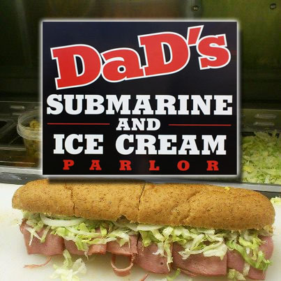 Dad's Submarine & Ice Cream Parlour