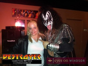 Destroyer Kiss Tribute Band in Windsor Ontario
