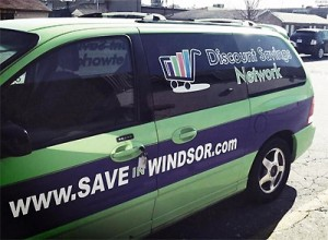 Discount Savings Network Van