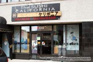 The Sushi California Japanese Restaurant in Windsor