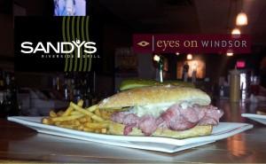 Reuben Sandwich at Sandy's