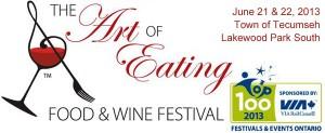 Art of Eating Food & Wine Festival Tecumseh Ontario