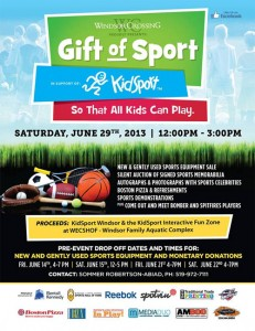 KidSport Gift of Sport Fundraiser at Windsor Crossing