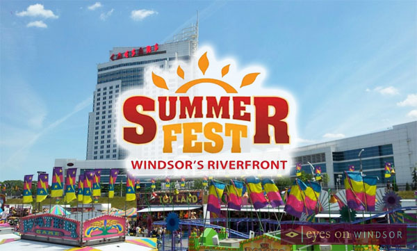 Summer Fest Windsor Festival Plaza