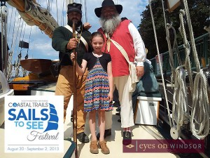 Coastal Trails Sails to See Talk Ship Festival Windsor Essex