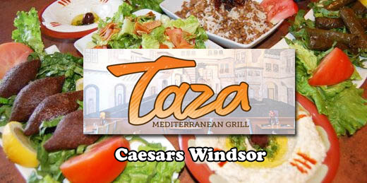 Taza Mediterranean Grill | Downtown Windsor at Caesars Windsor