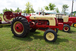 Tractor at Essex County Steam and Gas Engine Show