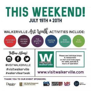 Walkerville Art Walk Poster