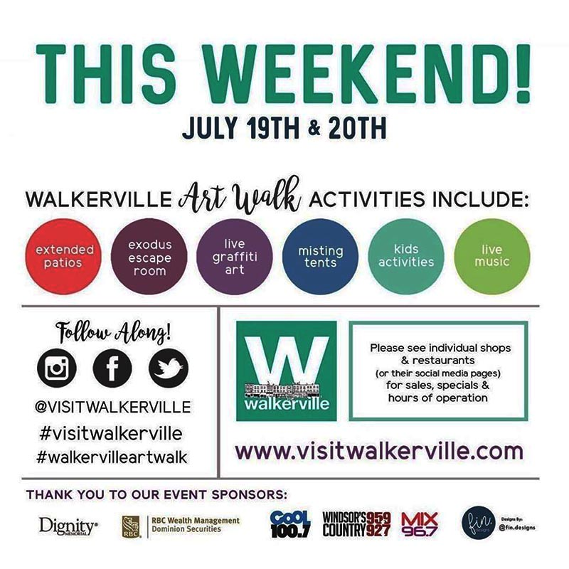 Walkerville Art Walk Poster