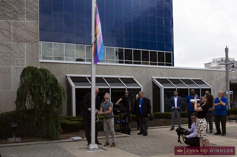 Windsor Essex Pride Flag Raising