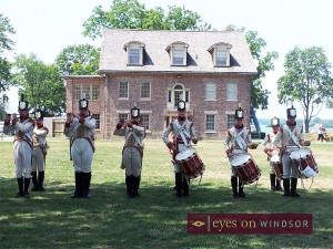 Fort Malden National Historic Site of Canada, Soldiers Drumming
