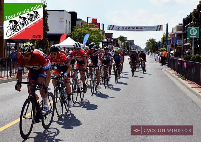 Tour di Via Italia Windsor, Ontario on Erie Street