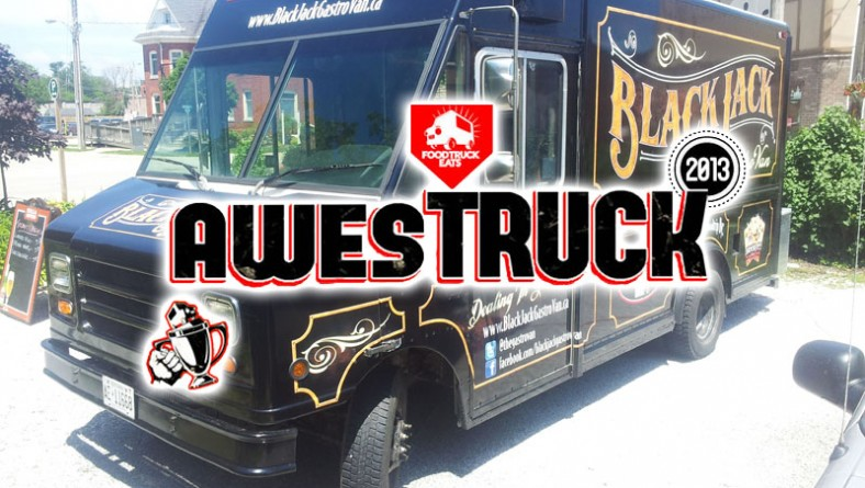 BlackJack Gastrovan Nominated For AwesTruck 2013 at Canada's Biggest Food Truck Festival