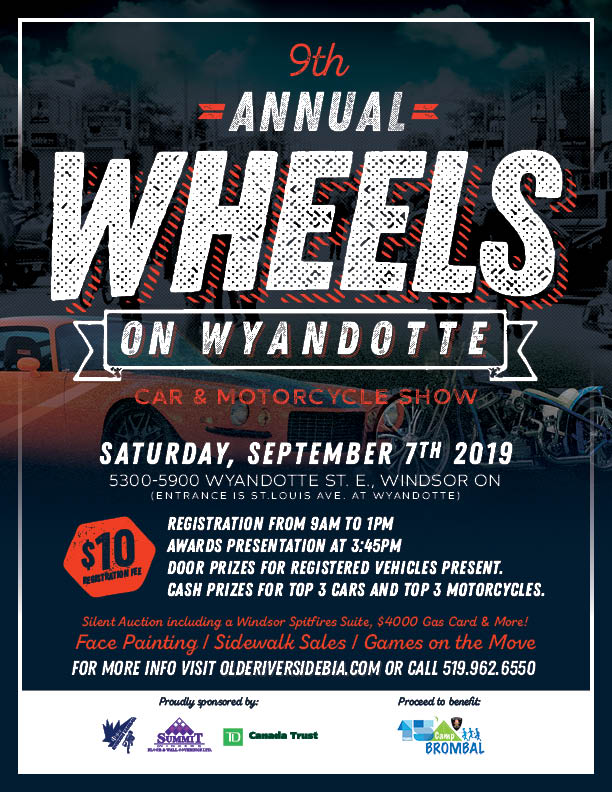 Wheels On Wyandotte Poster