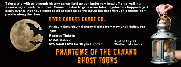 Phantoms of Canard Ghost Tours