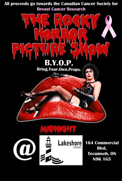 Rocky Horror Picture Show at Lakeshore Cinemas
