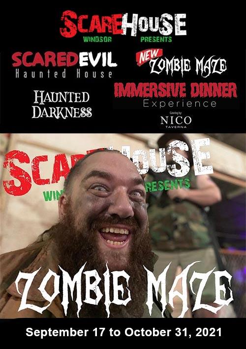 Scarehouse Windsor Haunted House