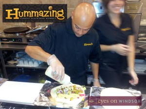Hummazing Chef Rami Chatley Makes Chicken Wrap