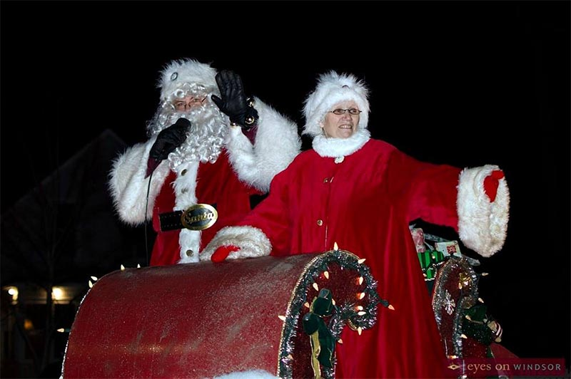 Kingsville S Santa Clause Parade 2018