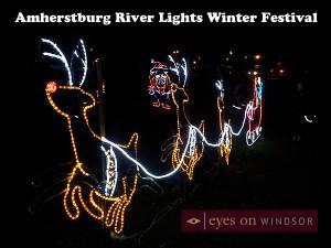 Amherstburg River Lights Winter Festival