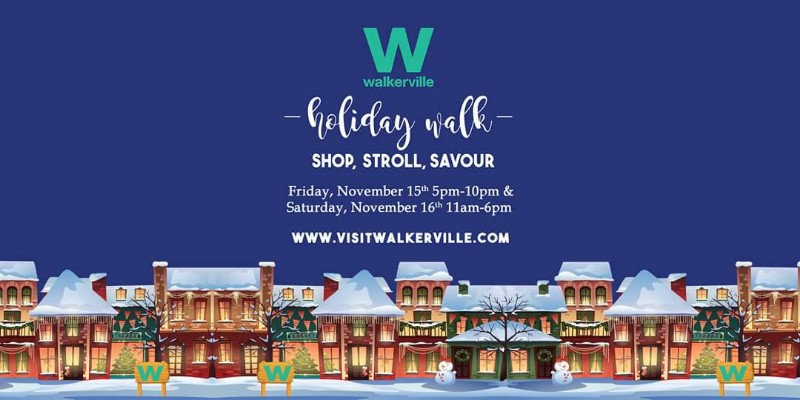 Walkerville Holiday Walk Poster
