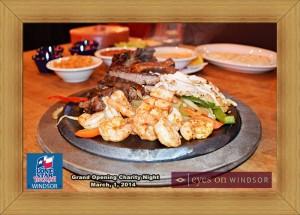 Fajita Fiesta at Lone Star Texas Grill in Windsor