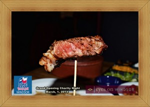Mesquite Grilled New York Striploin Steak at Lone Star Texas Grill in Windsor