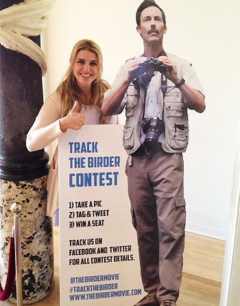 "The Birder Movie Unveils ""Track The Birder"" Contest and Official Poster Prior to Windsor Premiere"