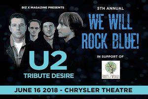 We Will Rock Blue 2018 Windsor Essex Desire U2 Tribute