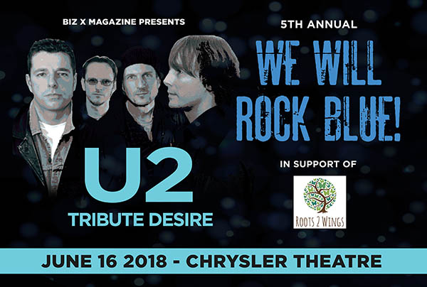We Will Rock Blue 2018 Windsor Essex Desire U2 Tribute