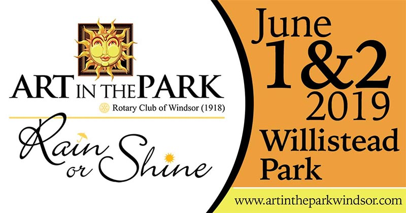 Art in The Park Festival in Windsor Ontario