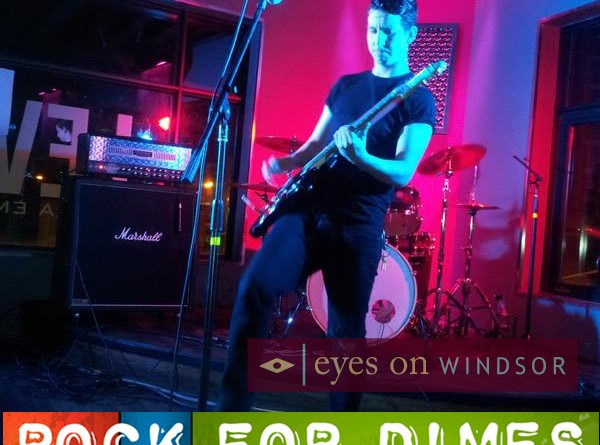 Win A Guitar Autographed by Great Big Sea Band at Rock For Dimes Windsor 2014