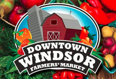 Downtown Windsor Farmers Market at Charles Clark Square