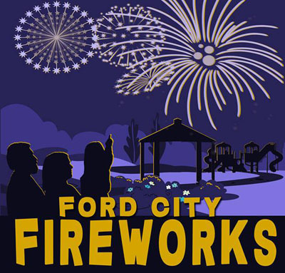 Ford City Fireworks Display