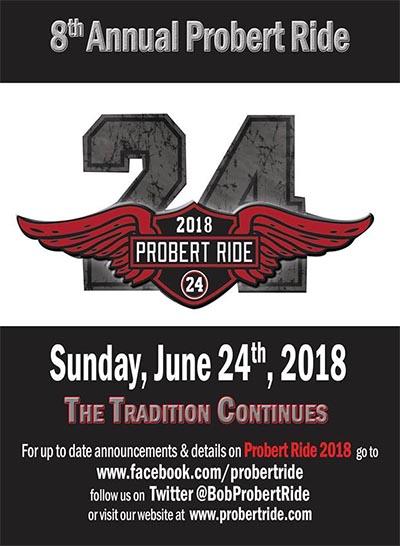 Probert Memorial Ride Poster