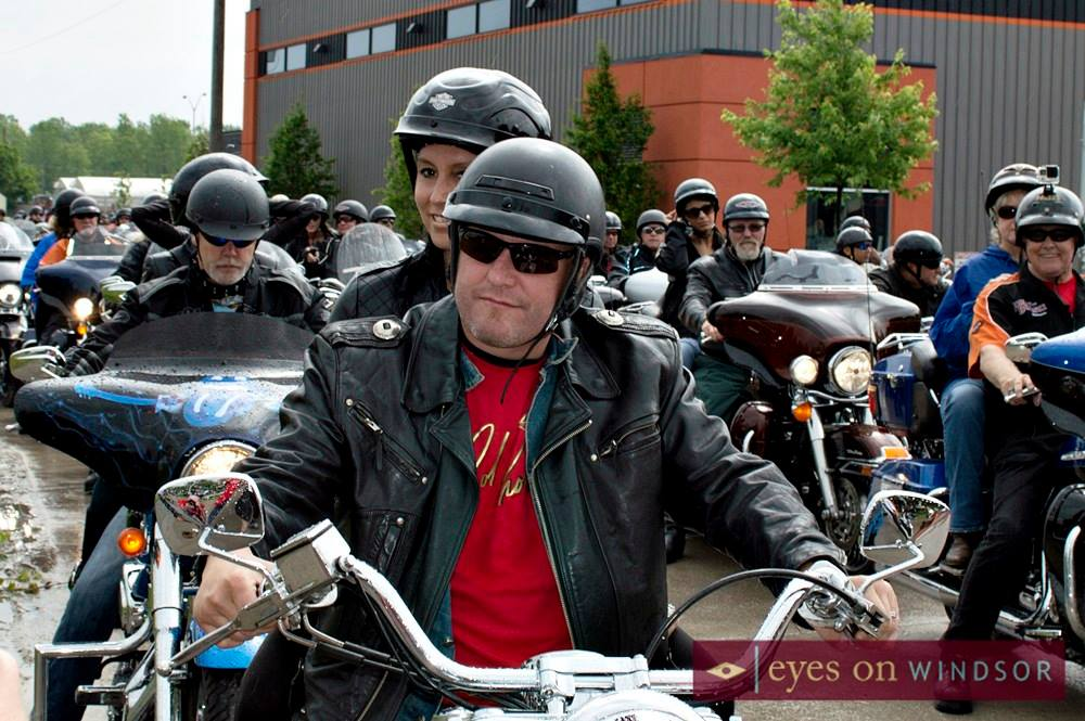 Darren McCarty Ride Captain of Probert Ride