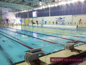 Windsor International Aquatic and Training Centre Olympic Pool