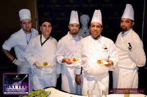 Caesars Windsor Chefs at Battle of the Hors D'oeuvres