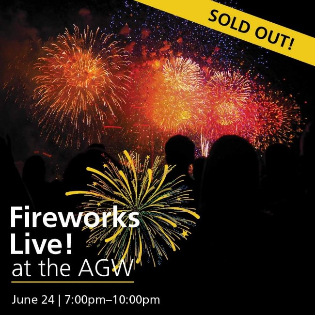 Fireworks Live! Art Gallery of Windsor
