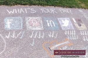 voting for social media platform at Windsor's Social Media Day 2014