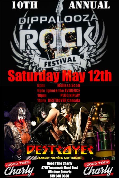 Dippolooza Rock Festival Poster